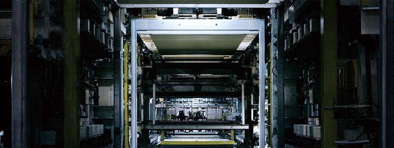 セキスイハイムの工場