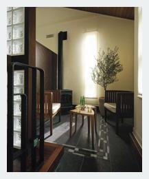 玄関の応接室
