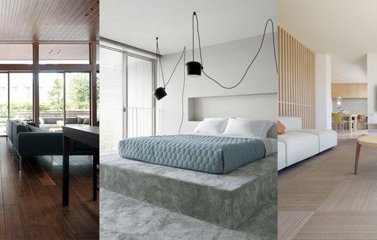 住宅の床材
