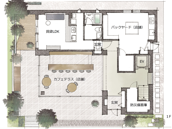 ミサワホーム・錦糸町展示場・間取り・1階