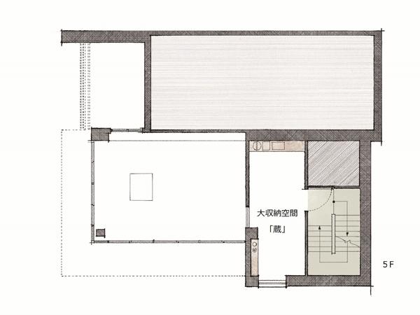 ミサワホーム・錦糸町展示場・間取り・5階