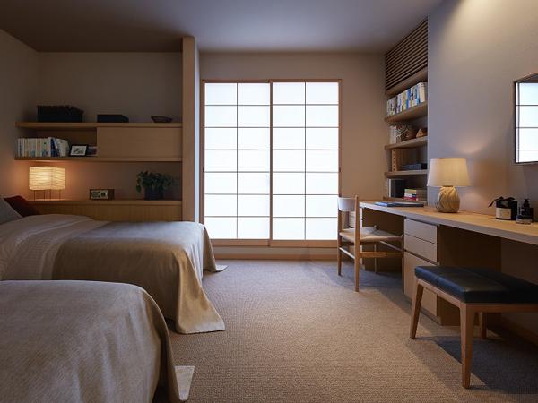 ミサワホーム・錦糸町展示場・ベッドルーム