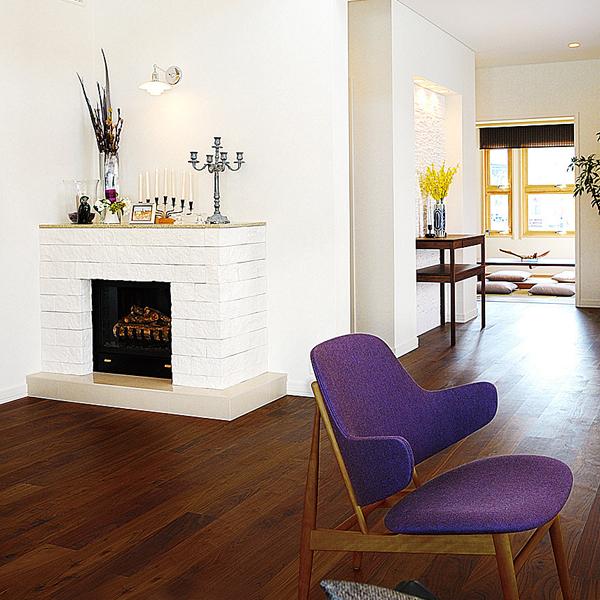 スウェーデンハウス・豊洲・暖炉