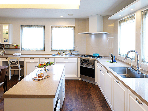 スウェーデンハウス・豊洲・キッチン