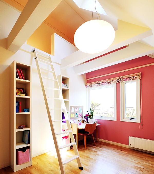 スウェーデンハウス大宮南展示場子ども部屋