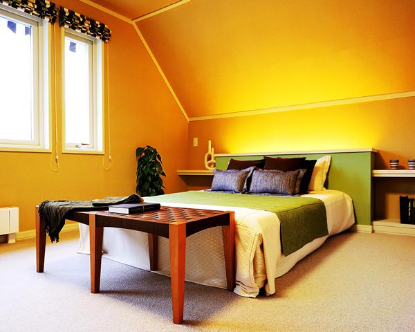 スウェーデンハウス大宮南展示場寝室