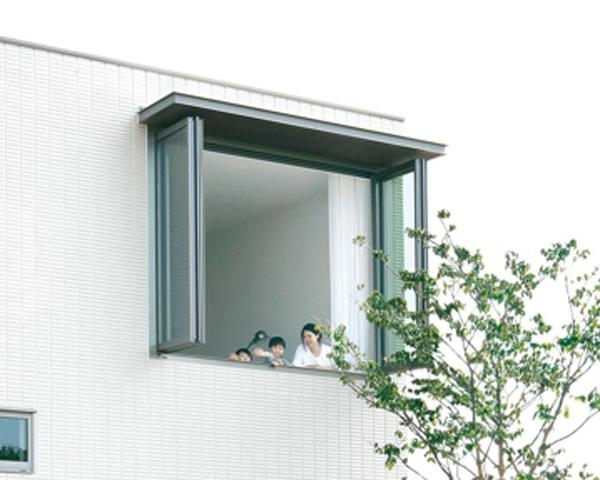 折りたたみ窓
