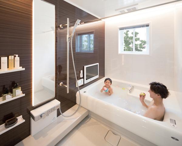 富士住建のバスルーム