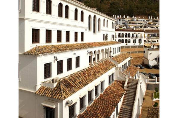 スペイン・ミハスの街 屋根瓦