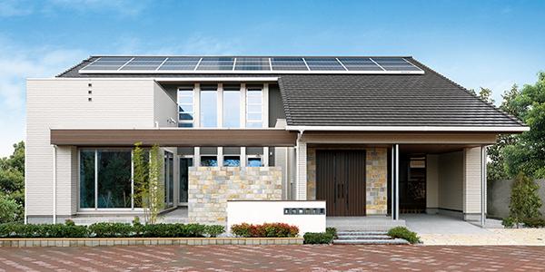 日本ハウス 太陽光発電住宅