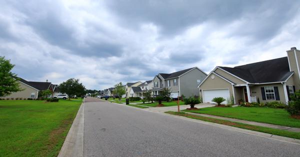 北米住宅 街並み