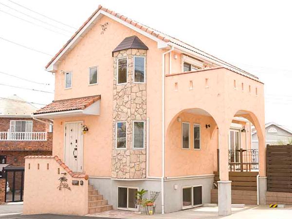 南欧スタイル 建築実例
