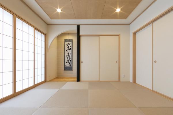 富士住建 和室