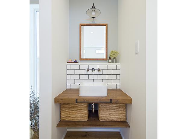 玄関 手洗いコーナー