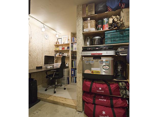 地下室 趣味の部屋