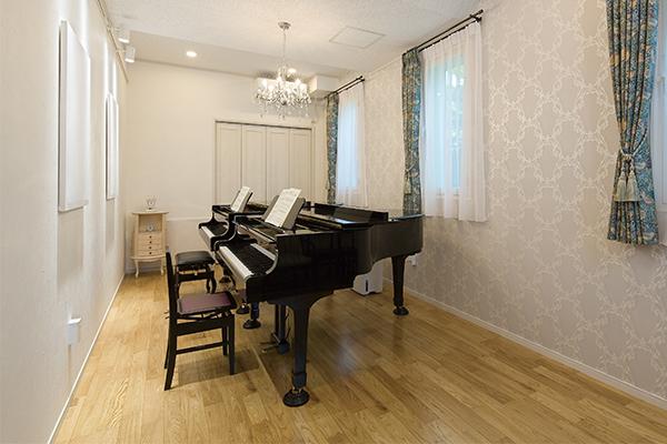 工藤建設 ピアノ室